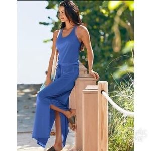 ATHLETA Cressida Cerulean racerback maxi dress XXS